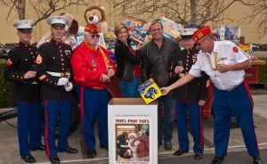Wine Oh TV Toys for Tots