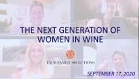 The Next Generation of Women in Wine - Virtual Wine Tasting